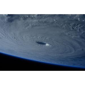 フリー写真, 風景, 自然, 災害, 自然災害, 台風, 平成27年台風第4号(メイサーク), 雲, 渦巻き状, 宇宙