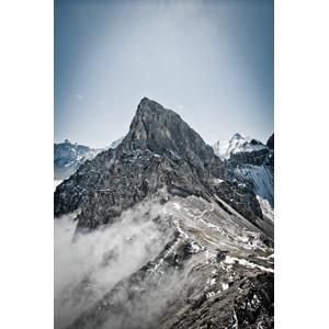 フリー写真, 風景, 自然, 山, 雲, スイスの風景