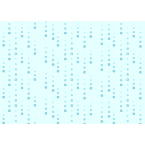 フリーイラスト, ベクター画像, AI, 背景, 雨, 天気, 梅雨, 6月, 青色(ブルー)