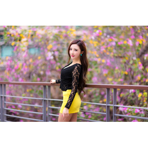 フリー写真, 人物, 女性, アジア人女性, 中国人, 女性(00174), ミニスカート