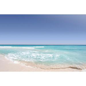 フリー写真, 風景, 自然, 海, ビーチ(砂浜), 青空, メキシコの風景