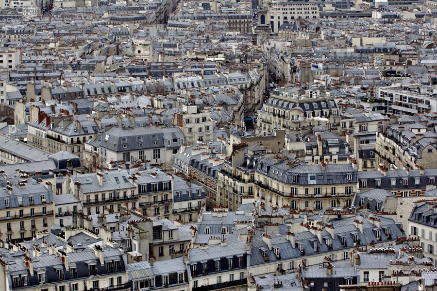 フリー写真 パリの街並みの風景