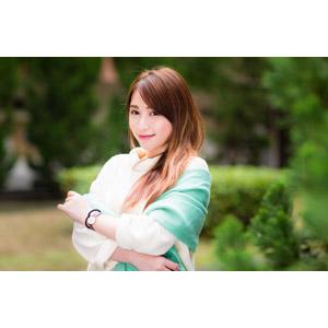フリー写真, 人物, 女性, アジア人女性, 陳樂樂(00176), 中国人, セーター(ニット)