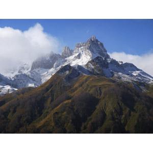 フリー写真, 風景, 自然, 山, ピレネー山脈, 雲, フランスの風景