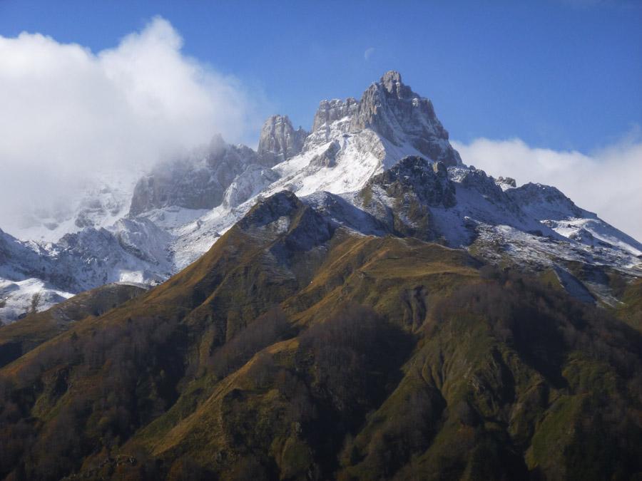 フリー写真 ピレネー山脈の風景