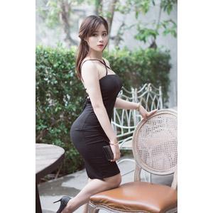 フリー写真, 人物, 女性, アジア人女性, ベトナム人, 女性(00175), ドレス