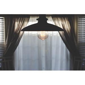 フリー写真, 風景, 部屋, 照明器具, 電球