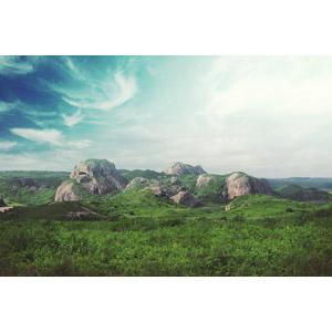 フリー写真, 風景, 自然, 岩山, ブラジルの風景