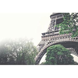 フリー写真, 風景, 建造物, 建築物, エッフェル塔, 霧(霞), フランスの風景, パリ