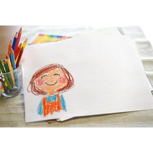 フリー写真, 絵画, 似顔絵, 年中行事, 母の日, 5月, 母親(お母さん), 画用紙, 色鉛筆