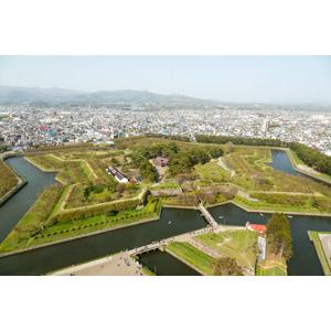 フリー写真, 風景, 建造物, 要塞, 五稜郭, 日本の風景, 北海道