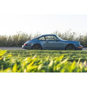 フリー写真, 乗り物, 自動車, スポーツカー, クーペ, ポルシェ, 草むら