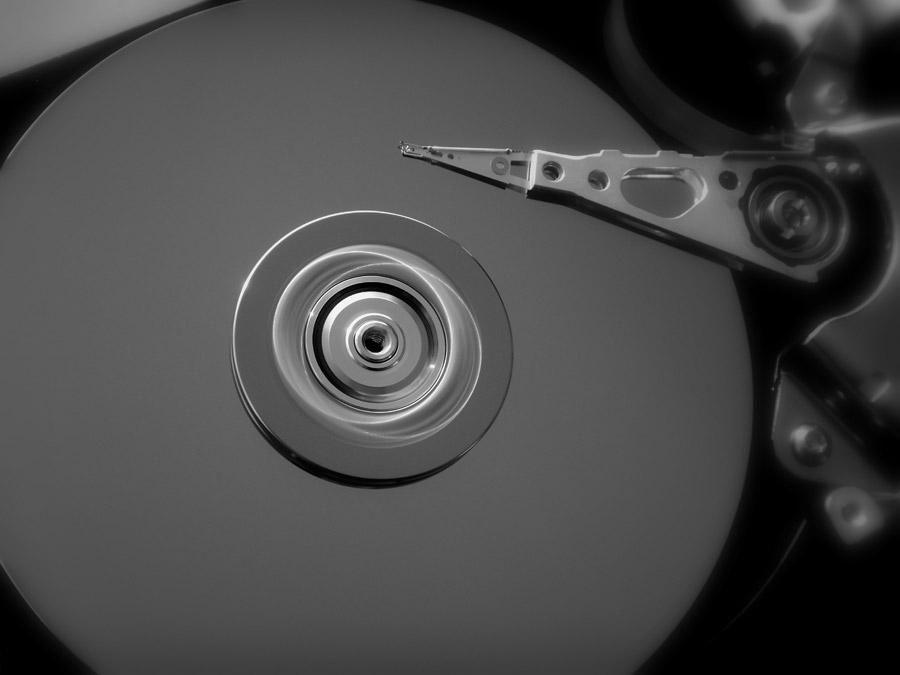 フリー写真 パソコン用のハードディスク