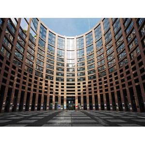フリー写真, 風景, 建造物, 建築物, 高層ビル, 欧州議会, フランスの風景