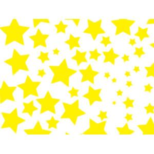フリーイラスト, ベクター画像, AI, 背景, 星(スター), 黄色(イエロー)