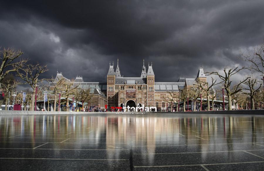 フリー写真 アムステルダム国立美術館