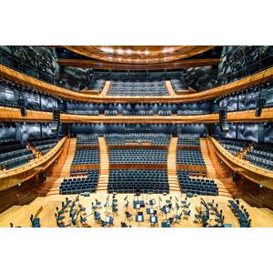 フリー写真, 風景, 建造物, 建築物, コンサートホール, 音楽, ポーランドの風景