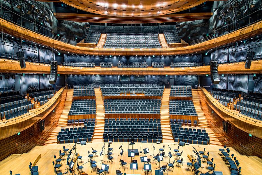 フリー写真 コンサートホールの風景