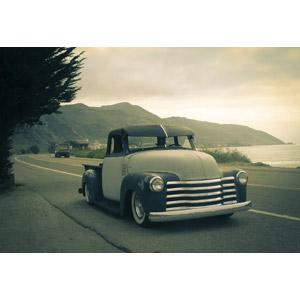 フリー写真, 乗り物, 自動車, 貨物車, ピックアップトラック, シボレー