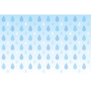 フリーイラスト, ベクター画像, EPS, 背景, 天気, 雨, 梅雨, 6月, 水滴(雫)