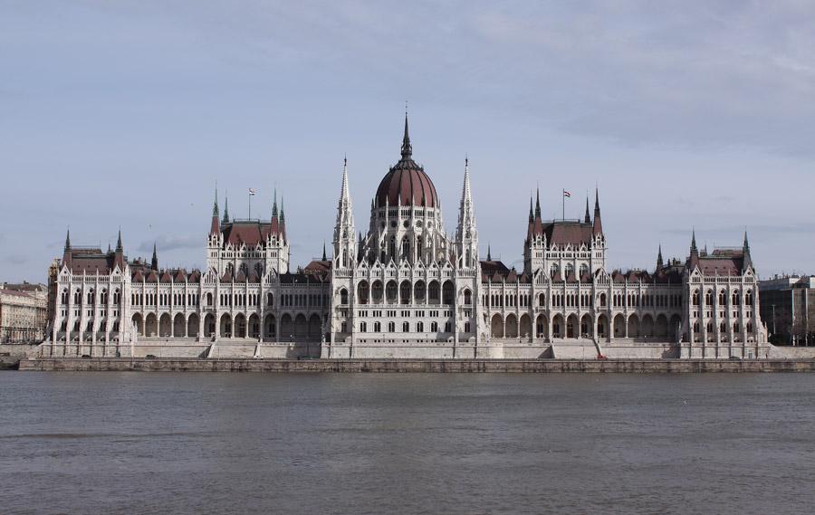 フリー写真 ハンガリーの国会議事堂