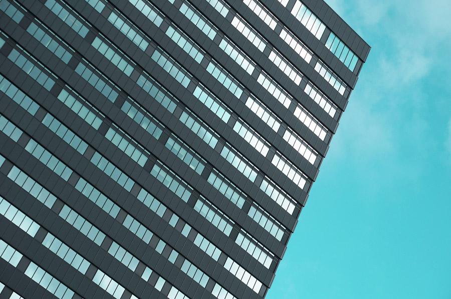 フリー写真 高層ビルの風景