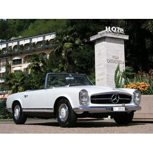 フリー写真, 乗り物, 自動車, オープンカー, メルセデス・ベンツ, メルセデス・ベンツ・SLクラス