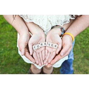 フリー写真, 人体, 手, カップル, 夫婦, 愛(ラブ), 永遠