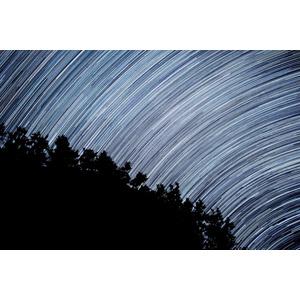 フリー写真, 風景, 星(スター), 夜, スタートレイル, 長時間露光