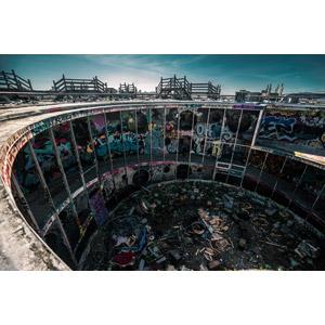 フリー写真, 風景, 建造物, 建築物, 廃墟, アメリカの風景, カリフォルニア州, サンフランシスコ