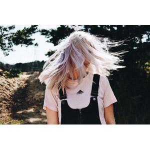 フリー写真, 人物, 女性, 外国人女性, 金髪(ブロンド), 髪の毛