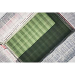 フリー写真, 風景, 建造物, 建築物, スポーツ, 球技, サッカー, サッカーフィールド, サッカースタジアム