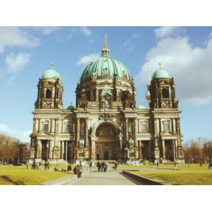 フリー写真, 風景, 建造物, 建築物, 教会(聖堂), ベルリン大聖堂, ドイツの風景, ベルリン