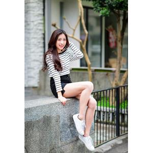 フリー写真, 人物, 女性, アジア人女性, 楚珊(00053), 中国人, ミニスカート