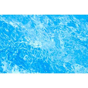 フリー写真, 背景, テクスチャ, 水, プール, 夏, 青色(ブルー)