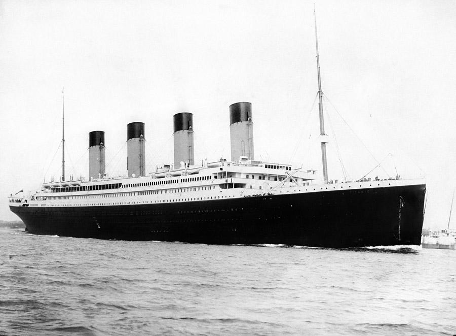 フリー写真 客船のタイタニック号