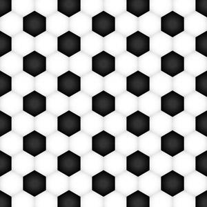 フリーイラスト, ベクター画像, AI, 背景, テクスチャ, サッカー, サッカーボール, 六角形(ヘキサゴン)