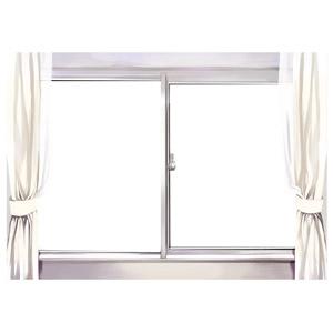 フリーイラスト, 建具, 窓, カーテン