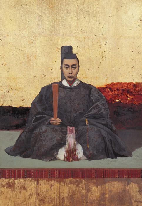 フリー絵画 川村清雄作「徳川慶喜像」