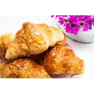 フリー写真, 食べ物(食料), パン, クロワッサン