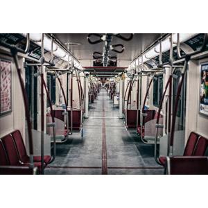 フリー写真, 乗り物, 列車(鉄道車両), 地下鉄等旅客車, 地下鉄, カナダの鉄道車両