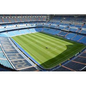 フリー写真, 風景, 建造物, 建築物, サッカー, サッカーフィールド, サッカースタジアム, スペインの風景, マドリード, レアル・マドリード