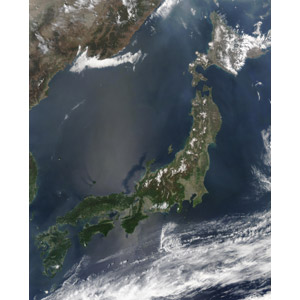 フリー写真, 日本の地形, 日本地図, 衛星写真