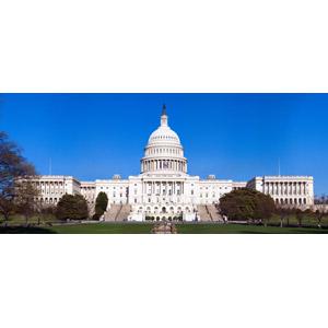 フリー写真, 風景, 建造物, 建築物, 議事堂, アメリカの風景, 政治, ワシントンD.C., アメリカ合衆国議会議事堂