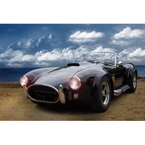 フリー写真, 乗り物, 自動車, クラシックカー, スポーツカー, オープンカー, ACコブラ, ACカーズ