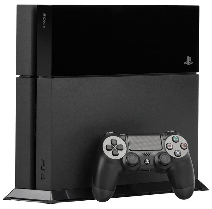 フリー写真 PS4の本体とコントローラー