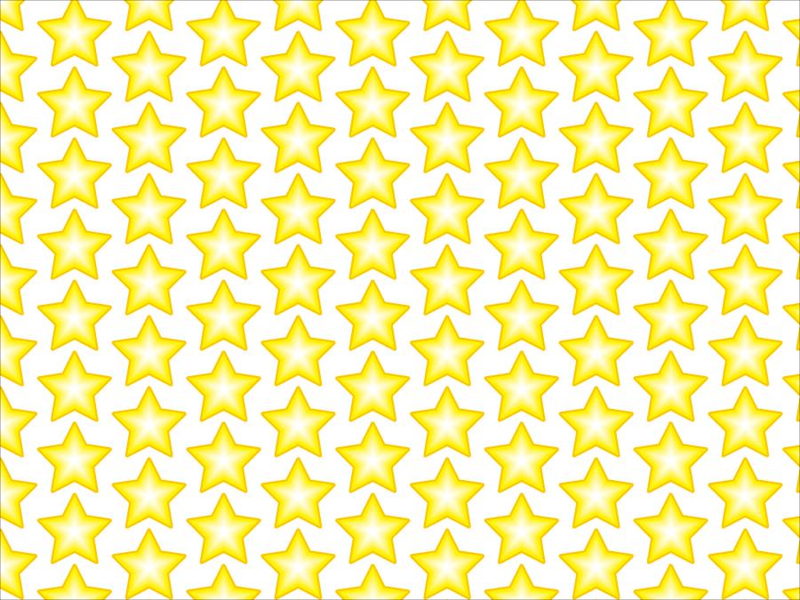 フリーイラスト 並んだ星の背景