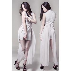 フリー写真, 人物, 女性, 外国人女性, ロシア人, ドレス, 後ろ姿, ファッションモデル
