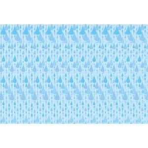 フリーイラスト, ベクター画像, AI, 背景, 雨, 水滴(雫), 青色(ブルー), 天気