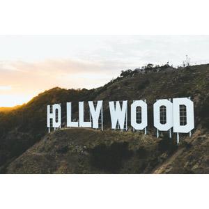 フリー写真, 風景, オブジェ, 看板, ハリウッドサイン, アメリカの風景, カリフォルニア州, ロサンゼルス
